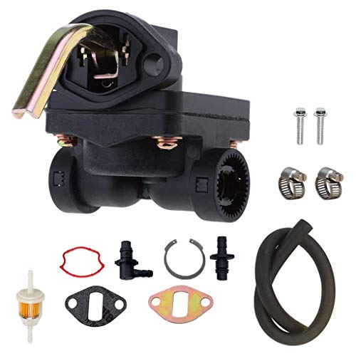 WE-WHLL 12-559-02-S Bomba de Combustible para Kohler 1255902-S 1255901-S 12-559-01-S Incluyendo Motores CH11GT CH11PT CH11S CH11 CH12.5S CH12.5 CH13S CH14 CH15 CH16 con Filtro de Combustible y Tubos