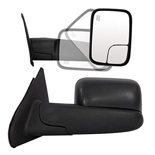 07 dodge ram heated tow mirror - 3