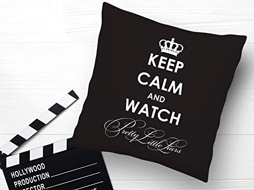 Kissen mit Print Pretty Little Liars Keep Calm