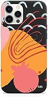 Caselab Iphone 12 Pro Max Siyah Silikon Telefon Kılıfı - Pomegranate attack