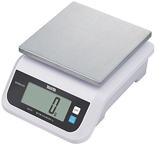 タニタ キッチンスケール はかり 料理 (取引証明以外用) デジタル 5kg 2g単位 KW-210 WH