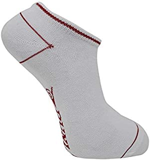 Dunlop, Hombre 5 Pares Deporte Zapatilla Forrada Calcetines Tobilleros