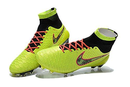 FRANK Football Herren Boots Schuhe Fußball Magista obra fg mit ACC 52 grün