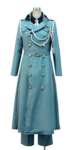 Dreamcosplay Anime Blue Exorcist Yukio Okumura Knight uniform Cosplay