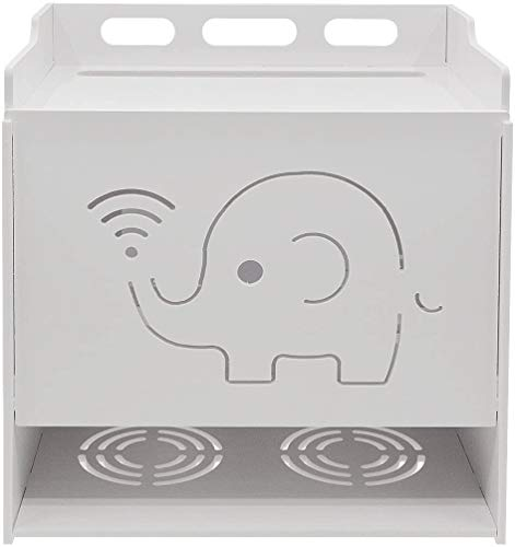 Saim Multi-Function WIFI Router Storage Boxes Shelf for Home and Office, Simple, Easy to Install, Large-3 Layer