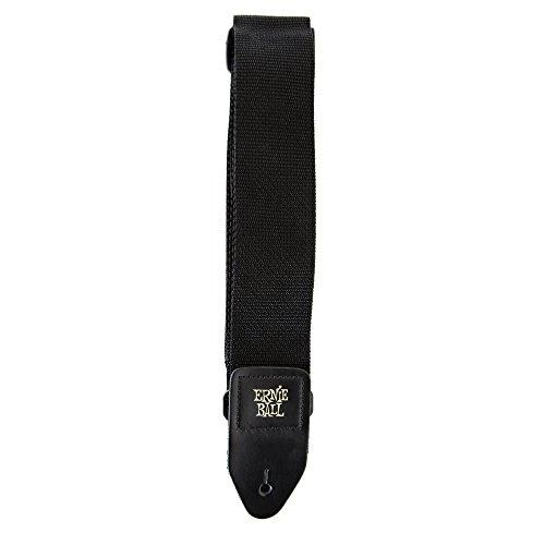 Ernie Ball Black Polypro Guitar Strap (P04037)