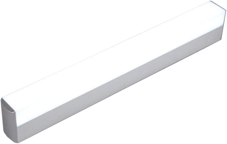 Spiegelleuchten LED-Spiegel-Frontleuchte, moderne wasserdichte Anti-Fog-Badespiegel Make-up-Lampe Wandleuchte Wandleuchten (Farbe   Wei-22W 55CM)