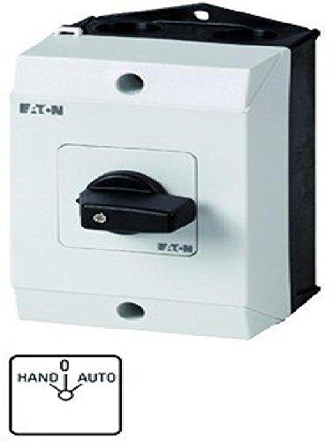Eaton 207070 Umschalter, Kontakte: 2, 20 A, Frontschild: Hand-0-Auto, 45 Grad, Rastend, Aufbau