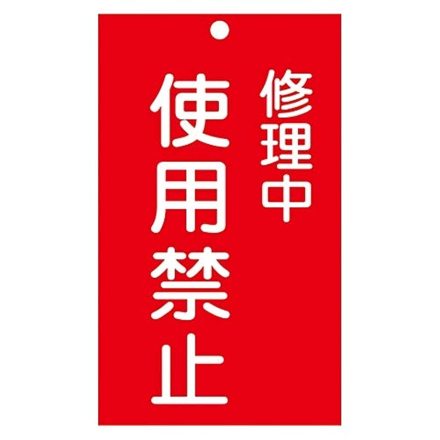 テスト対象放棄命札 「修理中 使用禁止」 札-207/61-3387-08