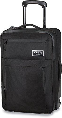 Dakine Men's Carry On Roller Luggage Suitcase, Black, 40 L