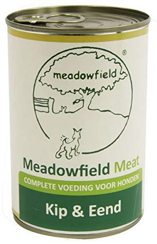 400 GR Meadowfield meat blik kip/eend hondenvoer