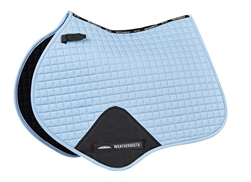 Weatherbeeta Prime Jump Shaped Saddle Pad Denim Full