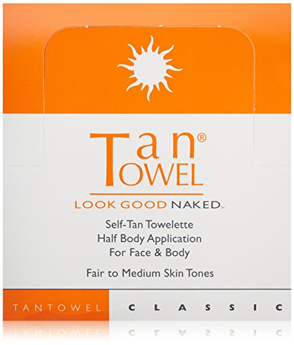 Tan Towel: Classic Half Body, 50 ct by Tan Towel