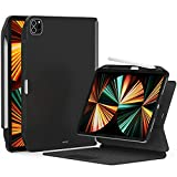 """SwitchEasy CoverBuddy [2021 Upgrade] Magnetic Case for 2021 iPad Pro 12.9 Inch (5th Gen), Compatible with Magic Keyboard/Smart Folio, Ultra Slim Protective Case,Keyboard Not Included (12.9"""", Black)"""