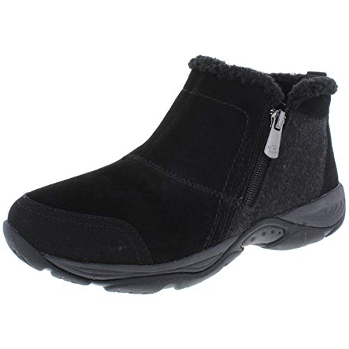 Easy Spirit Womens Embark Ankle Boots Ankle Low Heel 1-2' - Black - Size 7.5 B