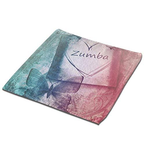 Leo-shop Toalla de Mano de Papel de Mariposa Zumba Book Bañ