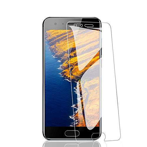 RIIMUHIR 2 Pièces de Verre Trempé pour Huawei P40 Pro, Dureté 9H, sans Bulles, Anti-Traces de Doigts, HD Transparent, Haute Sensibilité