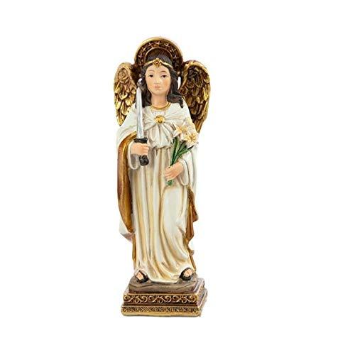 DRW Figura arcángel Resina 11 cm Alto (Arcángel Uriel)