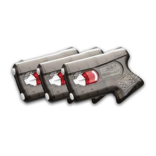 kimber Self Defense Less-Lethal PepperBlaster II; Pepper Spray Gun (Set 3,Gray)
