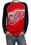 Calhoun Sportswear NHL Detroit Red Wings Mens Long Sleeve Rash Guard 2X