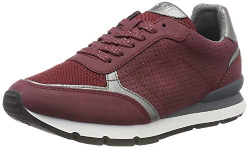 ESPRIT Damen Blanchet LU Sneaker, Rot (Bordeaux Red 600), 39 EU