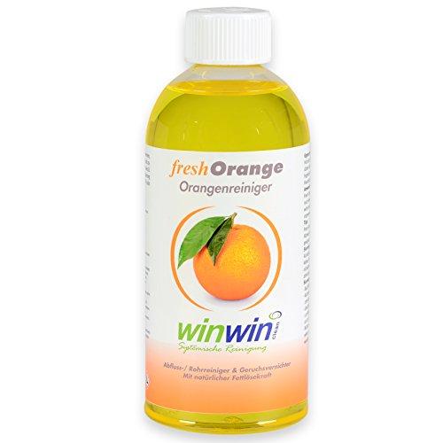 winwin clean Systemische Reinigung Fresh ORANGE 500ML I HOCHKONZENTRIERTER ORANGENREINIGER I SIE Werden BEGEISTERT Sein