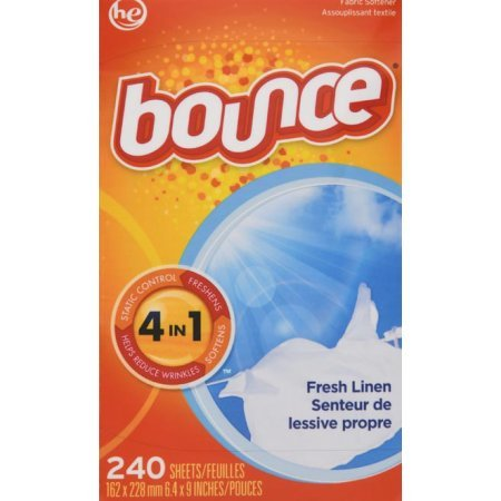 Bounce or Downy Dryer Sheets 240-Count Now $5.49