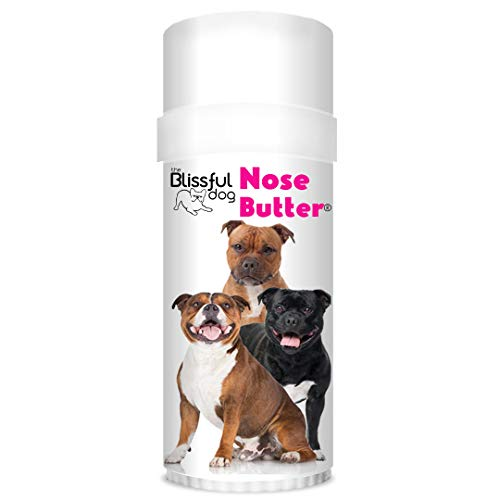 The Blissful Dog Staffordshire Pit-Bull Terrier Nose Butter - Dog Nose Butter, 2 Ounce