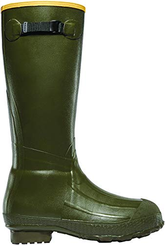 "LaCrosse Men's 18"" Burly Classic Hunting Boot,OD Green,11 M US"