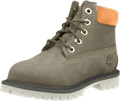 Timberland Unisex-Kinder 6-Inch Premium Waterproof Chelsea Boots, Grün (Dark Green Nubuck), 40 EU
