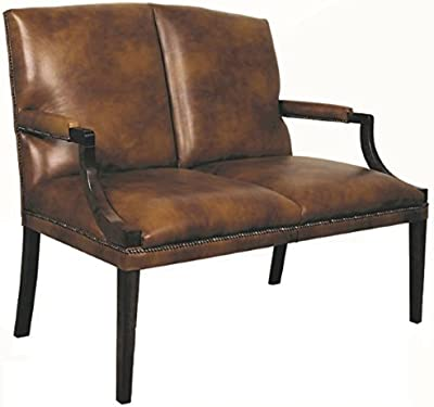 Casa-Padrino Luxury Genuine Leather Armchair Dark Brown 92 x ...