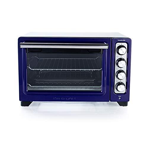 KitchenAid 12-Inch Compact Convection Countertop Oven - Cobalt Blue KCO253BU (RENEWED)