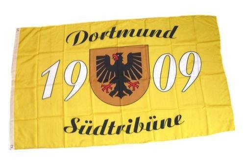 Fahne / Flagge Dortmund Südtribüne Fan 90 x 150 cm