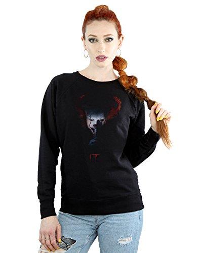 Unbekannt It Damen Pennywise Quiet Sweatshirt X-Large Schwarz