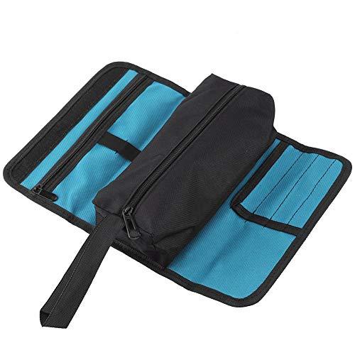Kleine Werkzeugtasche, Faltbare Professionelle Elektriker Werkzeug Aufbewahrungshalter-Rollentasche Bequemer Organisator für Elektriker Während der Installation oder Wartung
