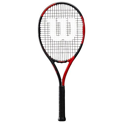 Wilson Damen/Herren-Tennisschläger, Erfahrene Spieler und Profis, Blx Fierce, Griffstärke 3, Grafit, rot/schwarz, WRT57240U3