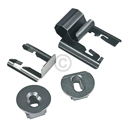 DL-pro Lagerbuchsenset für Bosch Siemens 626210 00626210 Lagerbuchsen Buchsen Set für Einhängegitter Teleskopauszug Backofen Ofen Herd