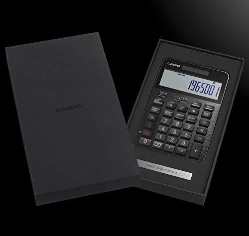 『カシオ CASIO プレミアム電卓 12桁 ブラック S100』のトップ画像