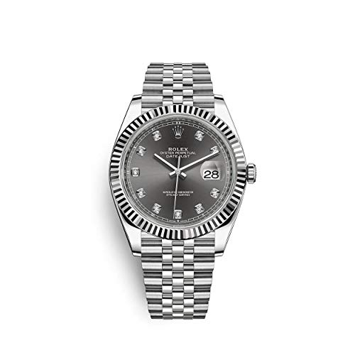 ROLEX DATEJUST 41 STEEL AND WHITE GOLD...