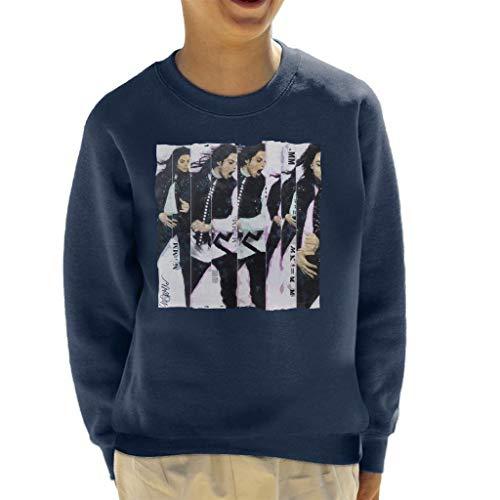 VINTRO Michael Jackson 90er kinderen sweatshirt origineel portret van Sidney Maurer