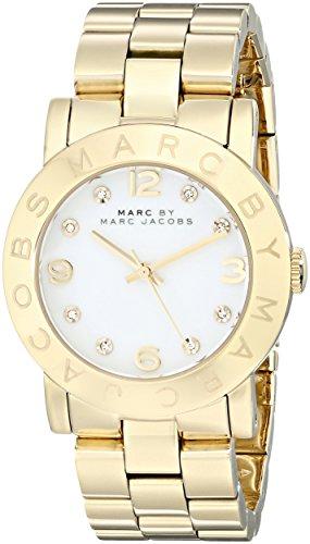 Marc Jacobs MBM3056 - Reloj de Pulsera Mujer, Acero Inoxidable, Color Dorado