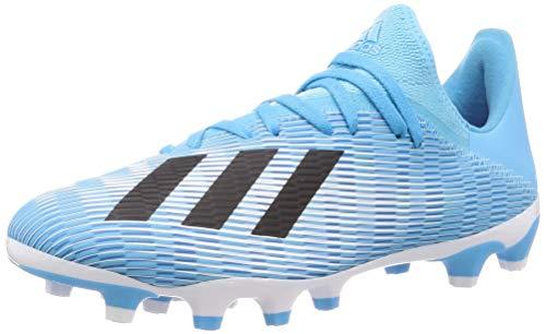 adidas Performance X 19.3 MG Fußballschuh Herren hellblau/schwarz, 8.5 UK - 42 2/3 EU - 9 US