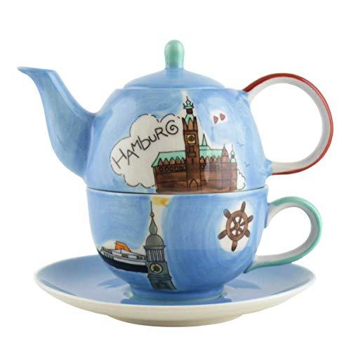 440s Mila Keramik Tee-Set Tea for One Hamburg   MI-9904   4045303099043