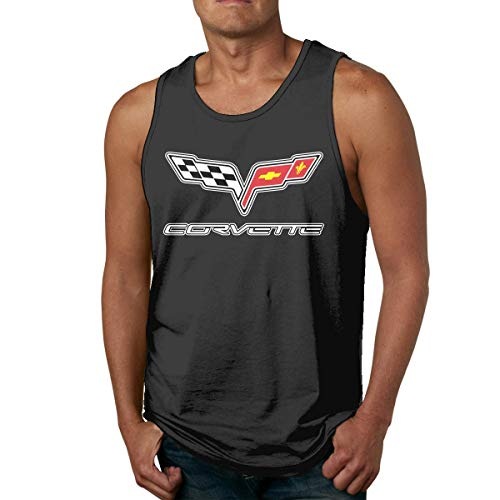 DJNGN Camiseta sin Mangas Divertida Corvette Gym para Hombre