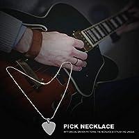 ギタープレーヤーのためのギターのためのスタイリッシュな耐久性のあるメタルピックネックレス(A)
