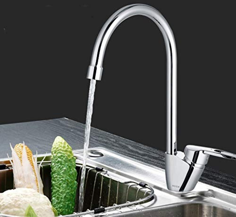 SCJS Wasserhahn Küche Einlochmontage Warmes Und Kaltes Wasser Wasserhhne Hoch Werfen Caipen Waschbecken Spülbecken Blei Blei Rotierenden Wasserhahn