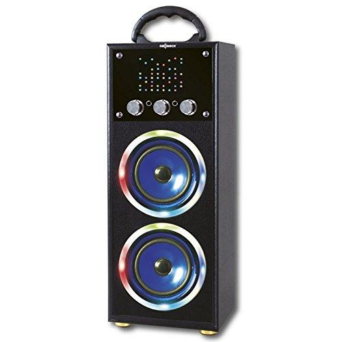 Altavoz Hifi Bluetooth GO-ROCK 2R'SOUND-III GR-WSK130, Función Karaoke - Azul