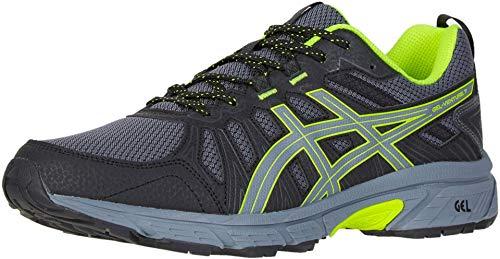 ASICS Men's Gel-Venture 7 Running Shoes, 9.5M, Metropolis/Safety Yellow