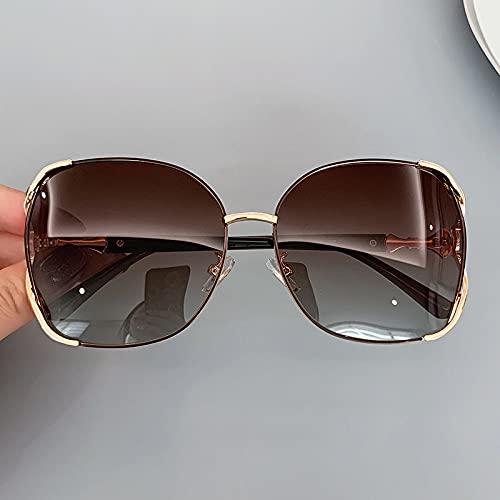 Gafas De Sol Polarizadas Tamaño medio C2 - té con gradiente de marco cercano