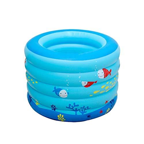 Natación Diámetro: 106cm piscina inflable, Patrón Chil juguete de la piscina redonda piscina peces marinos Summer Fun Ball Pool for las edades 1+ familia parque acuático (Tamaño: 106 * 75cm) kairui (T